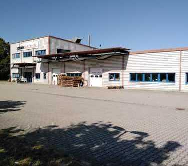 Industriehalle, Produktionshalle mit Büroflächen und Hausmeisterwohnung inkl. Photovoltaikanlage