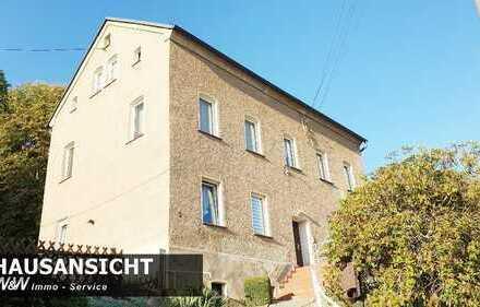 Generationen- / Einfamilienhaus in Wilkau-Haßlau sucht Sie!