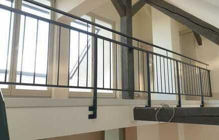 Schuch Immobilien - Designerwohnung auf zwei Etagen mit Dachterrasse - Erstbezug