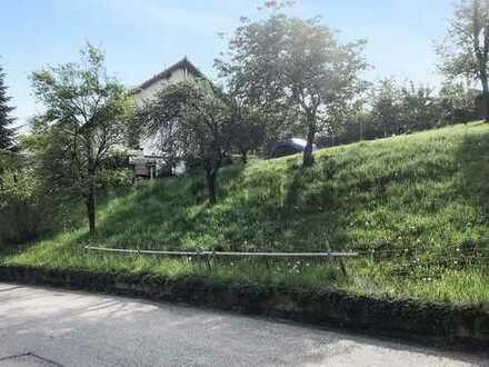 Attraktives Baugrundstück für ein EFH in Allmersbach am Weinberg