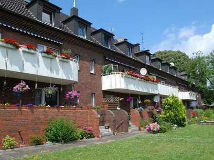 Helle Dachgeschosswohnung in Duisburg-Friemersheim