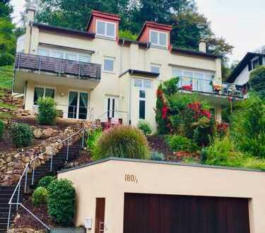 Schönes modernes lichtdurchflutetes Haus mit sechs Zimmern in Heidelberg, Ziegelhausen