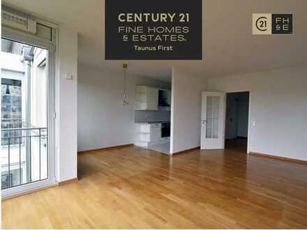 Charmante 2-Zimmerwohnung in gepflegter Anlage, Balkon, Aufzug und Tiefgarage, Frankfurt-Dornbusch