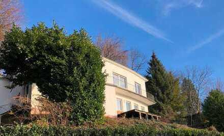Freistehendes Einfamilienhaus in HD-Neuenheim mit herrlichem Blick über Rheinebene u. Neckarschleife