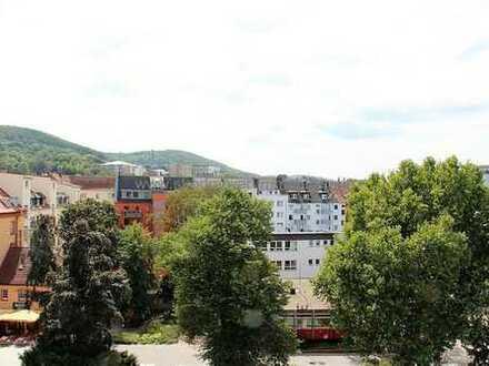Hagen-Mitte: Helle, moderne Maisonette mit Blick über die Stadt