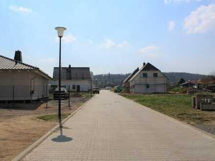Herzlich willkommen im neuen Baugebiet in Ballenstedt! Haus- und Straßenbau geht rasant voran!