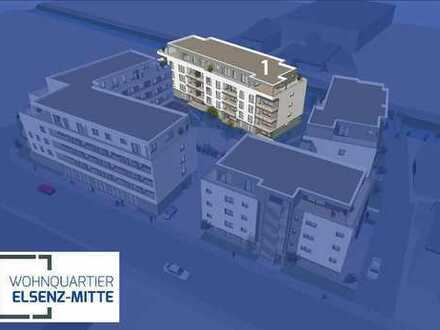 Sinsheim: Erstbezug! Tolle 2-Zimmer-Wohnung mit Balkon, Einbauküche und TG-Stellplatz (# 3987-1eV)