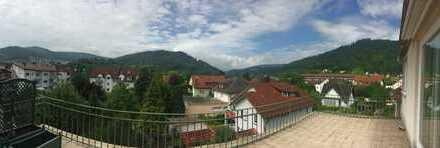 Schöne Penthousewohnung, ruhig gelegen in der Stadt Eberbach