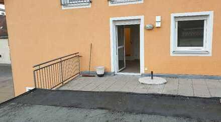 Freundliche 2-Zimmer-Wohnung mit Balkon in Geiselhöring
