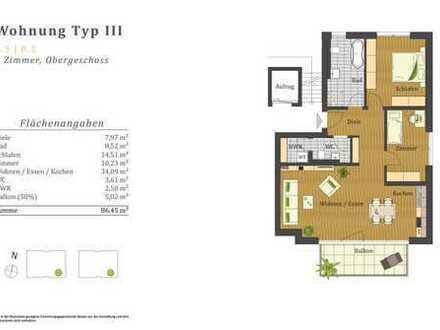 Geräumige 3-Zimmer-Wohnung in Gelnhausen