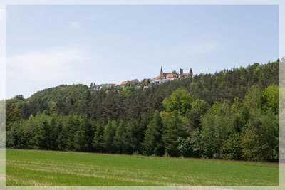 Naturnahe Grundstücke mit Blick zur Burg Leuchtenberg