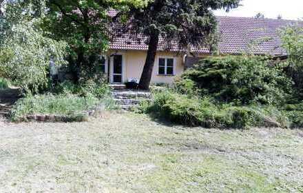 Vollständig renovierte 5-Zimmer-EG-Wohnung mit Terrasse und Garten in Liebenwalde