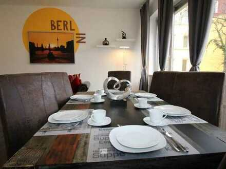 Comfortable furnished 3 rooms apartment for rent in Tempelhof