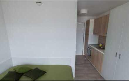 Helle Ein-Zimmer Wohnung im iLive Campus Gardens - Heidelberg Bahnstadt