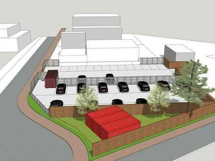 ***ab 150 m² für Container, PKW, Busse, LKW oder Wohnwagen***ideale Lage nähe Flughafen+Autobahn***