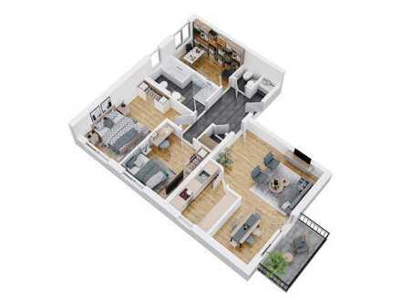 Neubau KFW 40 Plus - Mietwohnungen in Wiesent (53-92m²)