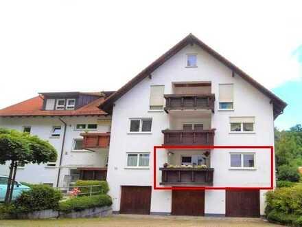 TOP Lage in Sulz/Neckar***Hübsche 2,5 Zi- Wohnung mit Balkon und Stellplatz