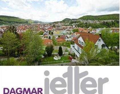 Traumhafte unverbaubare Aussichtslage am Bitzer Berg in Albstadt! 4-Zimmer-Terrassenwohnung