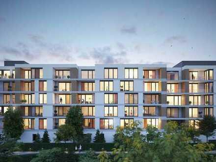Ganz oben in Kepler One! Großzügige 3-Zi.-Wohnung mit sonniger Terrasse in optimaler Innenstadtlage