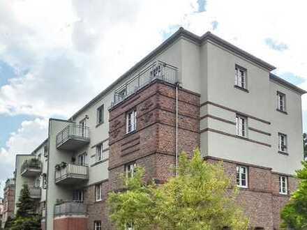 **Mit der Sonne wohnen** 2,5-Raum-Wohnung in Dresden-Briesnitz mit neuem Laminat