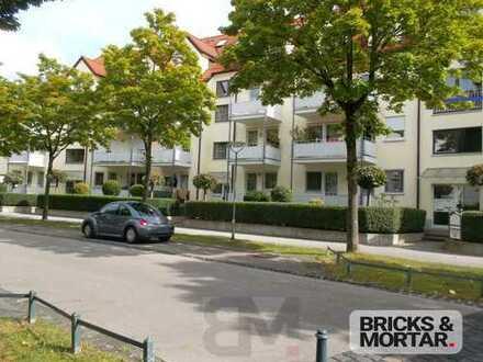 *Gepflegte 2-Zimmer-Wohnung mit Balkon und Terrasse *Siebentischwaldnähe