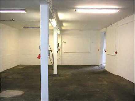 PROVISIONSFREI** Werkstatt/Lagerraum mit kl. Büro und Dusche ca. 110 qm, 480 Euro zzgl. Mwst.