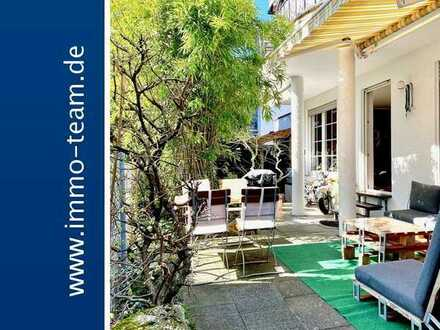 Schicke 3,5 Zimmer Terrassenwohnung mit großem Garten **Einzelgarage ** 2 Stellplätze**