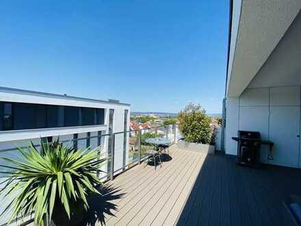 Moderne Penthouse Wohnung mit großer Terrasse