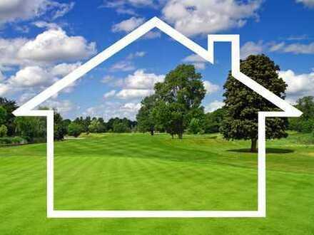 Bauplatz für große Doppelhaushälfte in Feldrandlage!