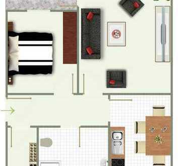 Renovierte 2-Zimmer Wohntraum im Erdgeschoss !!!