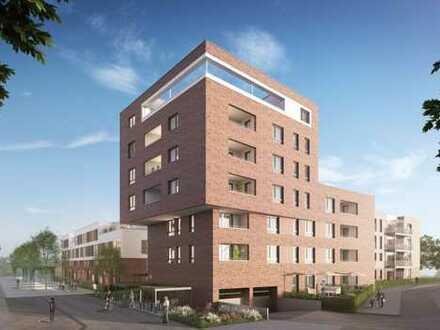 Perfekte 2-Zimmer-Wohnung mit Terrasse und Gärtchen