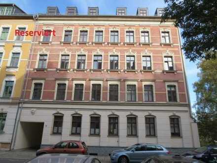 FÜR EIGENNUTZER: Maisonette-Wohnung mit Galerie am Küchwald, Balkon mit Blick zur Schloßkirche