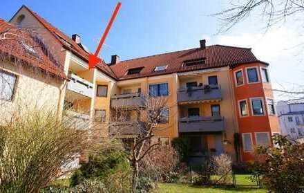 Kapitalanlage in Göggingen 3 Zimmer Wohnung im 2. Obergeschoss vermietet