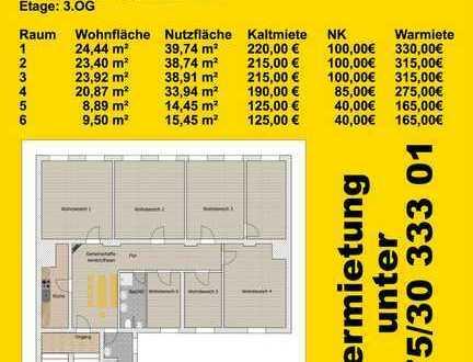 WG-Zimmer in Zwickau/Zentrum Hauptstraße 8
