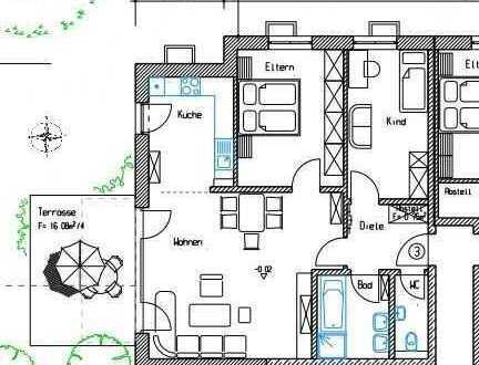 Ruhige Neubauwohnung in gehobener Ausstattung nähe Aichach