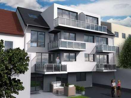 Neubau! Exklusive Maisonette-Penthousewohnung in zentraler Lage. Bezugsfertig April 2019