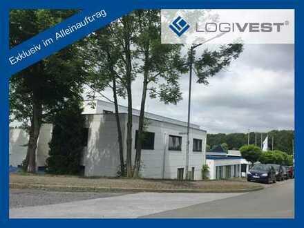 *Exklusiv im Alleinauftrag* 12.000 m² Produktions-; Lagerflächen / modernes Verwaltungsgebäude