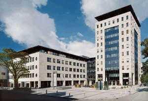 Repräsentative Bürofläche im Karlsbau
