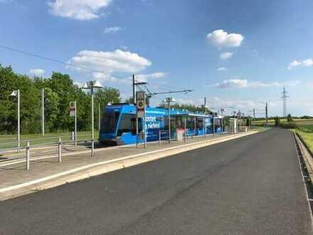 S-Bahn vor der Tür