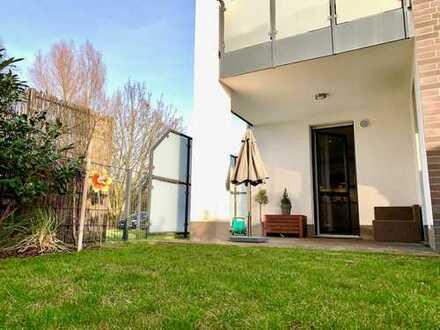 Neuwertige 3-Zimmer-Wohnung mit Garten (EG), Stellplatz und EBK