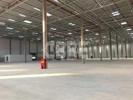 Lagerhallen mit 10.000 m² Erweiterungsgrundstück in guter Lage zu vermieten!