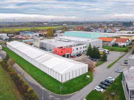 Produktions - und Logistik Areal mit Entwicklungspotenzial in Heitersheim