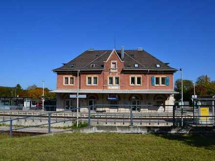 Attraktive Gewerbeflächen direkt im Bahnhofsgebäude Giengen zu vermieten!