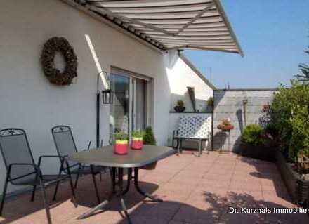 Ansprechende Wohnung mit großer Süddachterrasse, Tel. 02508/451, www.Dr-Kurzhals.de