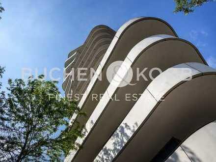 Eigentumswohnung mit bildschönen Blickachsen im legendären Marco Polo Tower - HH- Hafencity