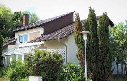 Großes 1- bis 2-Familienhaus mit Garten und separatem Baugrundstück in ruhiger Lage von Dielheim