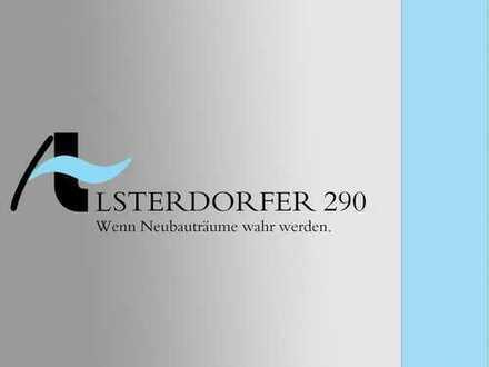 Neubau im grünen Alsterdorf - Luxuriöses Penthouse mit traumhafter Dachterrasse zu verkaufen
