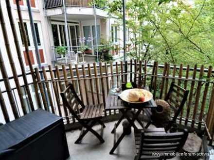 Sie werden begeistert sein! Attraktive und sonnige Wohnung mit Balkon in Bestlage - Altstadt-Lehel!