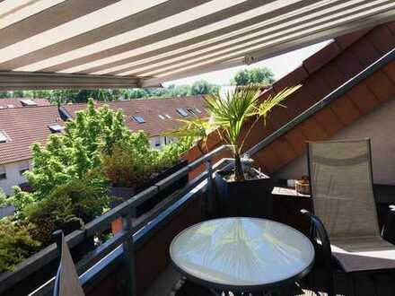 ruhig gelegene 3 Zi. Dachwohnung in Rheinau-Süd
