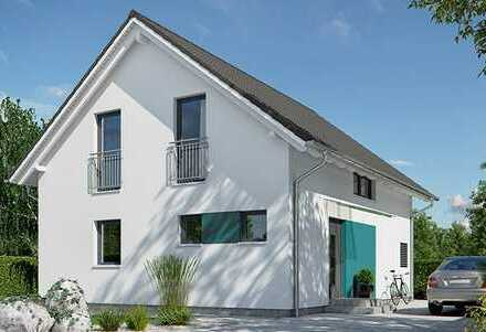 *Familienglück auf 138 m²* Neubau EFH inkl. Grundstück mit Keller und toller Aktionsküche